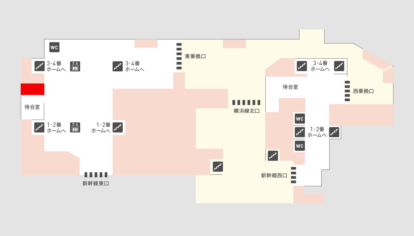 caffe LAT.25°の地図