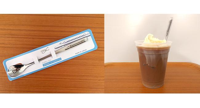 「N700Sソーダスプーン」リニア・鉄道館デリカステーションでも販売開始!